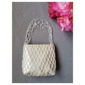 Handbags - Iridescent Beaded Small Purse
